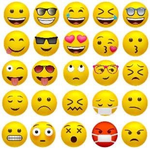 Dalle faccine ai simboli della pandemia, le emoji